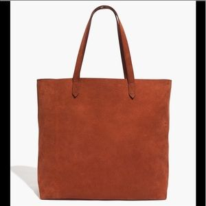 madewell transport tote in spiced cider BNWT